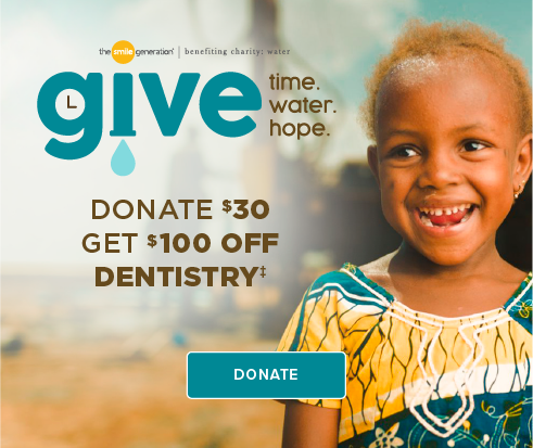 Donate $30, Get $100 Off Dentistry - Tracy Smiles Dentistry and Orthodontics